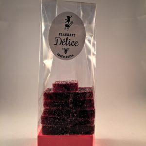 Pâte de fruits framboise