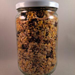Granola Superfibres sans gluten biologique contenant plus de fibres