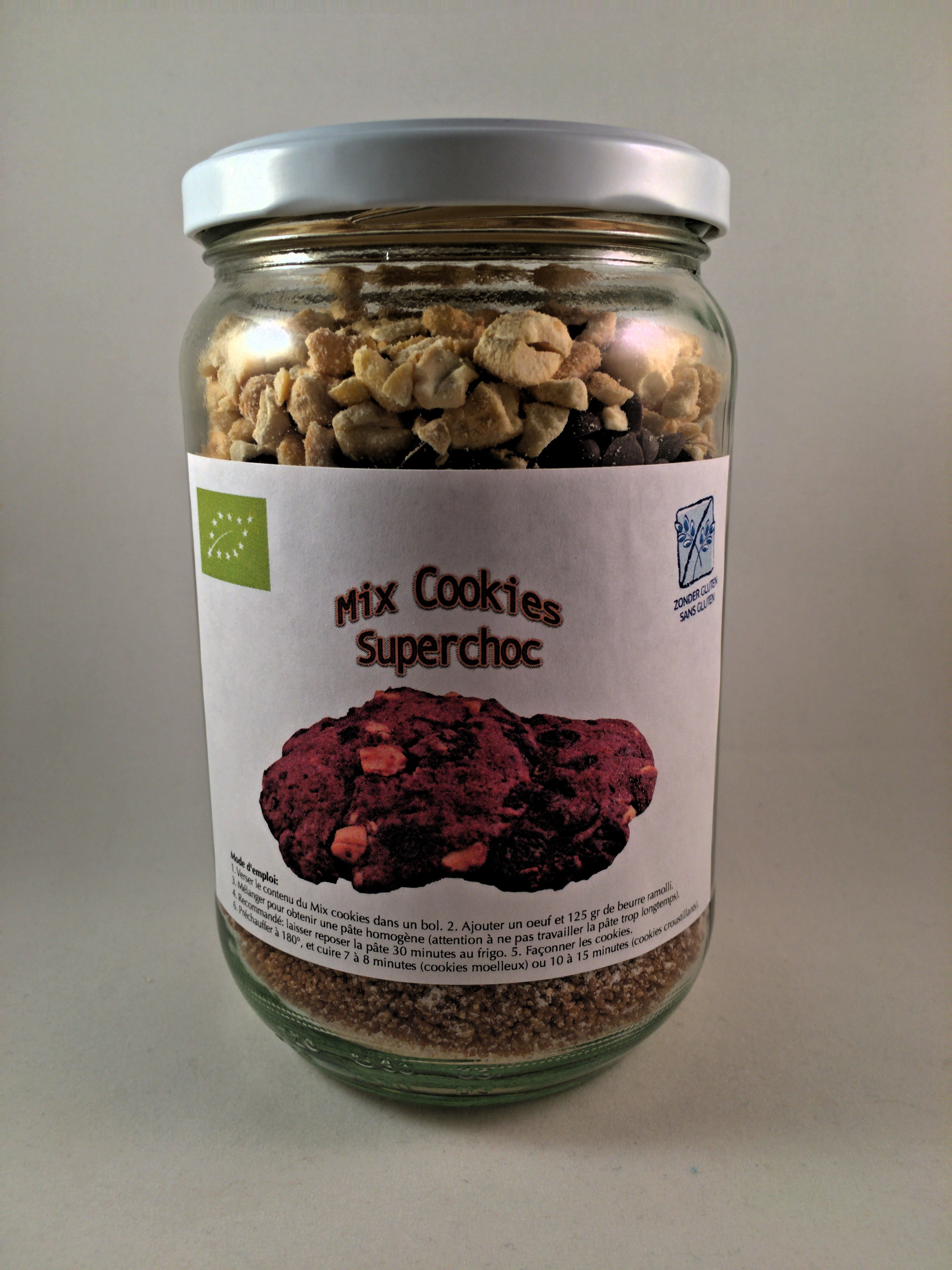 Mix cookies superchoc bio