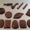 Caraques chocolat au lait biologique