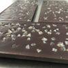 Tablette chocolat noir gingembre confit biologique