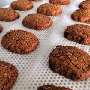 cookies amandes caramélisées